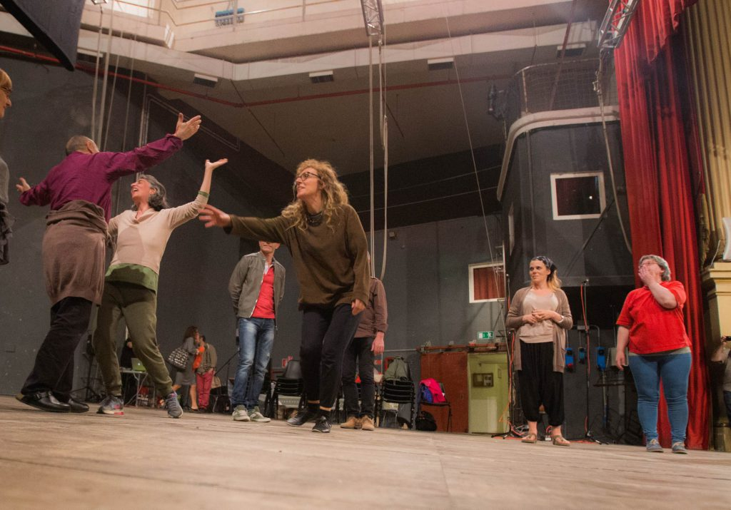 Laboratorio di improvvisazione vocale estrema con Claudia Fofi, Anteprima Umbria in voce, Teatro Morlacchi