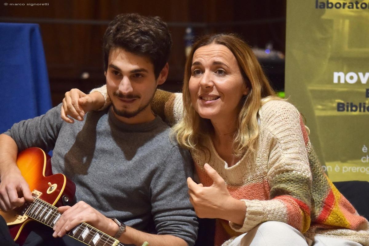Nicoletta Sensi e Lorenzo Ghirelli